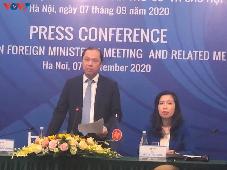 越南为第53届东盟外长会议及系列会议取得成功做好准备 - ảnh 1