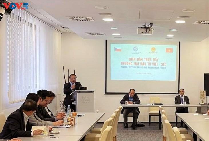 Forum zur Handelsförderung zwischen Vietnam und Tschechien - ảnh 1
