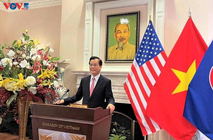 Destacan apoyo mutuo entre Vietnam y Estados Unidos en contexto del covid-19 - ảnh 1