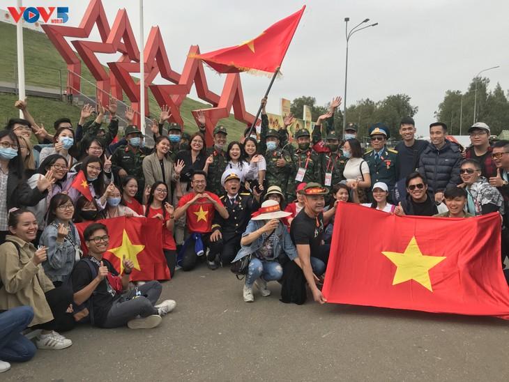 베트남 대표단, Army Games 2020에서 우수한 성적을 거두어… - ảnh 2