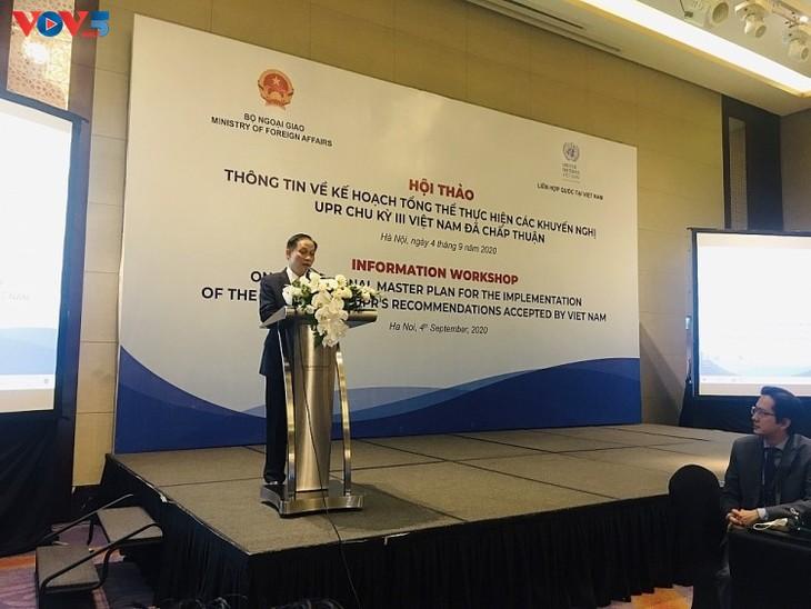 Droits de l'homme : la communauté internationale apprécie les efforts du Vietnam - ảnh 1