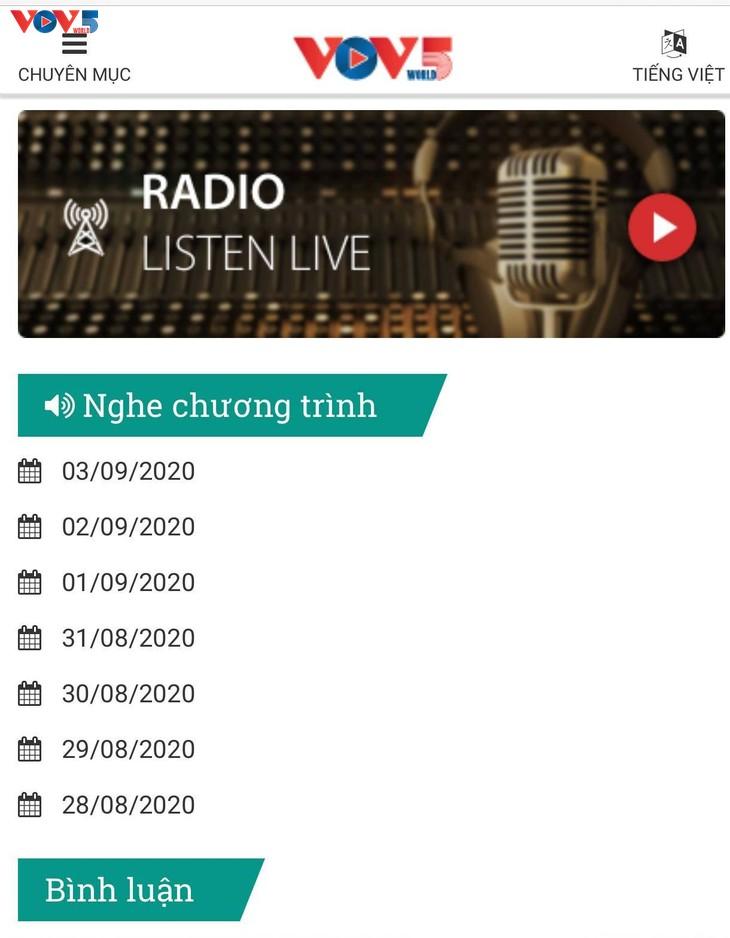 Thêm một giờ phát sóng FM trong nước của chương trình Dành cho đồng bào Việt Nam ở xa Tổ quốc - ảnh 2