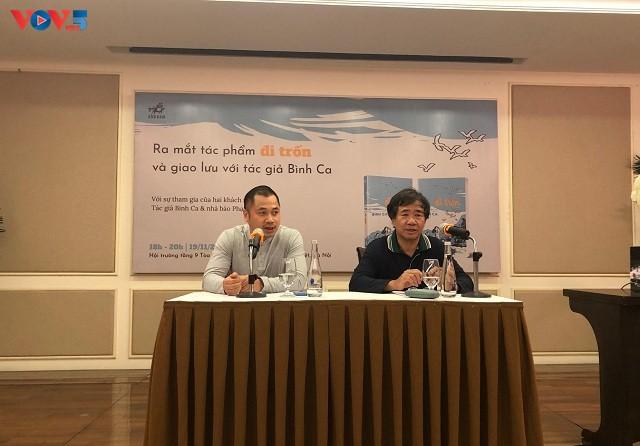 """Tác giả Quân khu Nam Đồng ra mắt tác phẩm thứ hai """"Đi trốn"""" - ảnh 4"""