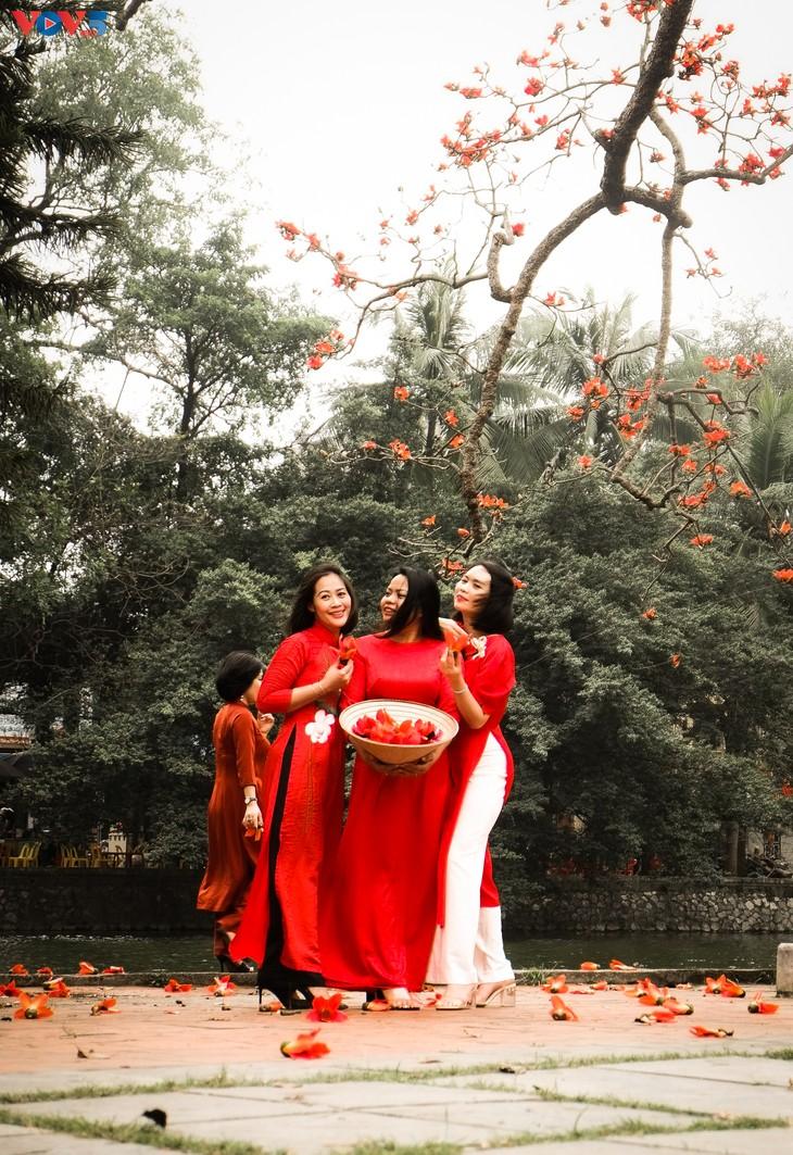 Chùa Thầy: Thương nhớ mùa hoa gạo tháng 3 - ảnh 3