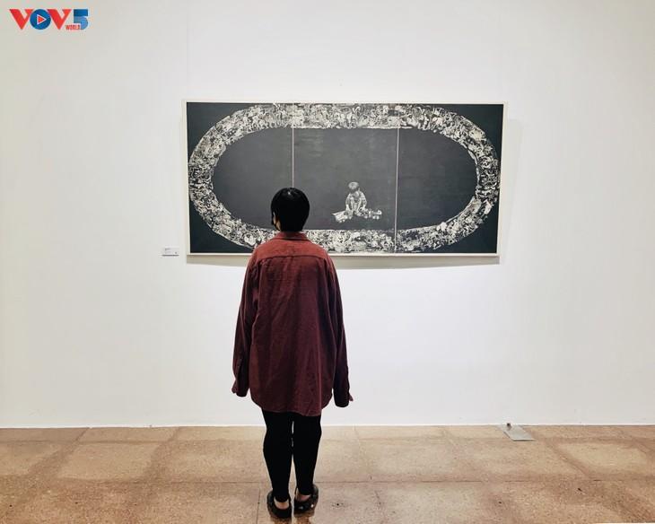 Nguyễn Khắc Hân với triển lãm 10 năm đi cùng tranh khắc gỗ - ảnh 2