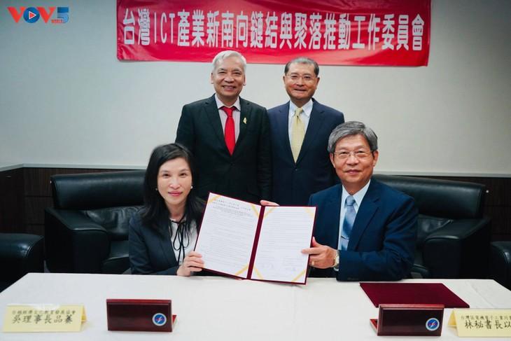 Lễ ký kết đào tạo nhân lực chất lượng cao cho doanh nghiệp Đài Loan (Trung Quốc) đầu tư vào Việt Nam - ảnh 2