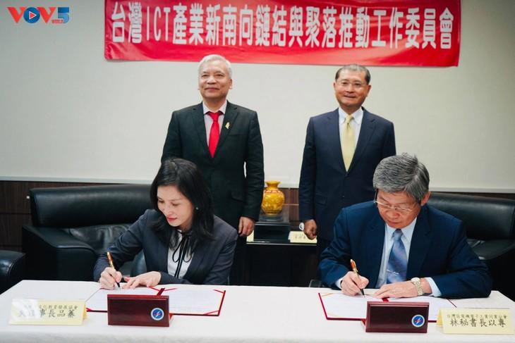Lễ ký kết đào tạo nhân lực chất lượng cao cho doanh nghiệp Đài Loan (Trung Quốc) đầu tư vào Việt Nam - ảnh 1