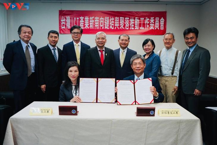 Lễ ký kết đào tạo nhân lực chất lượng cao cho doanh nghiệp Đài Loan (Trung Quốc) đầu tư vào Việt Nam - ảnh 3