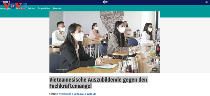 Trung tâm ngoại ngữ MV: đã nối dài hợp tác giáo dục nghề Việt Đức - ảnh 1