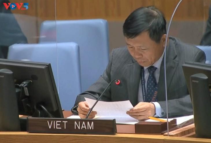 เวียดนามเรียกร้องให้ปลดอาวุธนิวเคลียร์ - ảnh 1