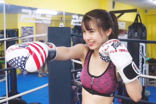 Pace Kickboxing & Fitness, destino ideal de los amantes de los deportes fuertes  - ảnh 2