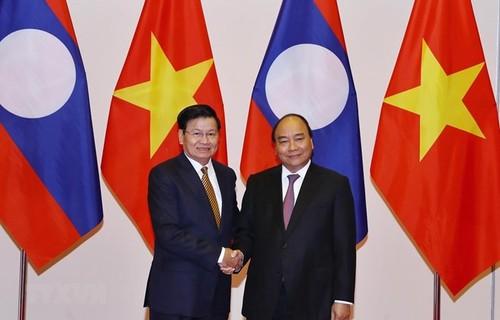 Vietnam y Laos por avanzar en comercio - ảnh 1