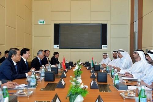 Vietnam y EAU determinados a elevar a 10 mil millones de dólares de intercambio comercial - ảnh 1