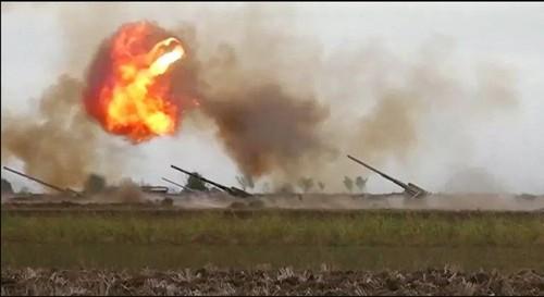 Estados Unidos, Francia y Rusia llaman al cese de la hostilidad en Nagorno-Karabaj - ảnh 1