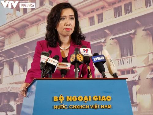 Vietnam pide a China que respete su soberanía marítima - ảnh 1