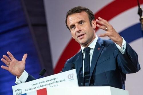 Macron desea promover la reforma de la UE - ảnh 1