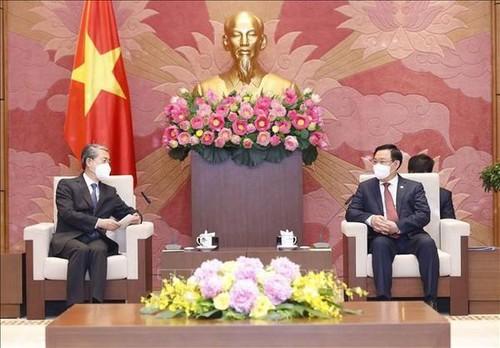 Vietnam por desarrollar la asociación estratégica integral con China - ảnh 1