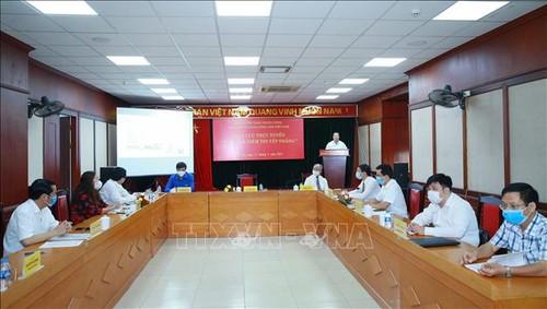"""Celebran intercambio en línea: """"El Presidente Ho Chi Minh es nuestra creencia en la victoria"""" - ảnh 1"""