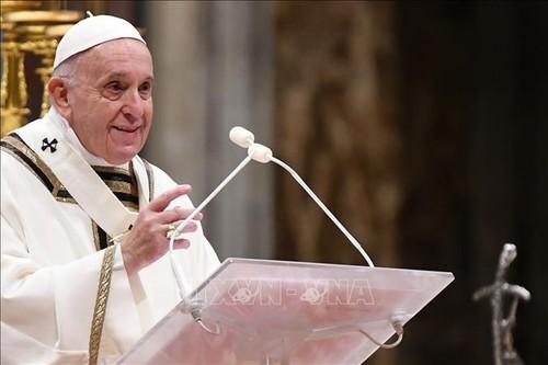 El papa Francisco alaba la tregua entre Israel y Palestina - ảnh 1