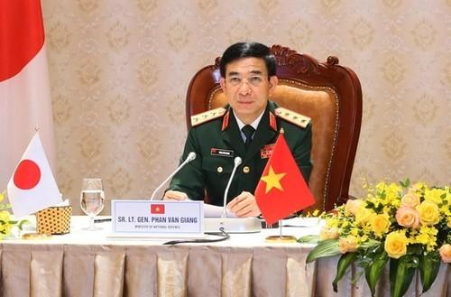 Vietnam y Japón refuerzan relaciones en defensa - ảnh 1