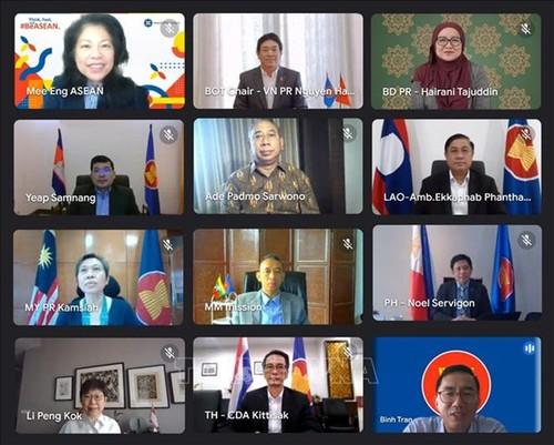 Vietnam preside reunión de Junta Directiva de la Fundación de la Asean - ảnh 1