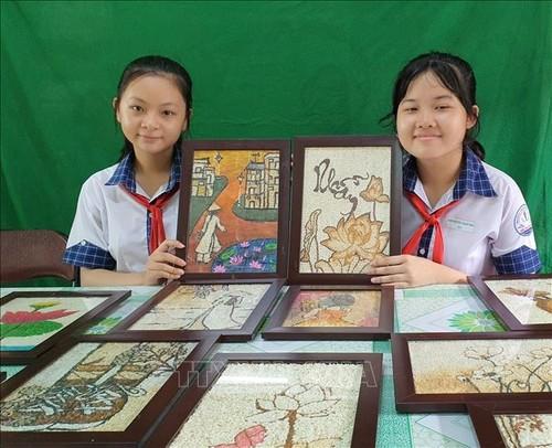 Un proyecto único respetuoso con el medioambiente de dos estudiantes en Can Tho - ảnh 1