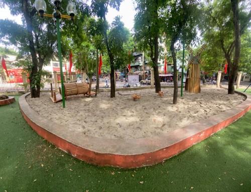 Patios de recreo al aire libre para menores de Hanói - ảnh 2