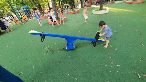 Patios de recreo al aire libre para menores de Hanói - ảnh 1