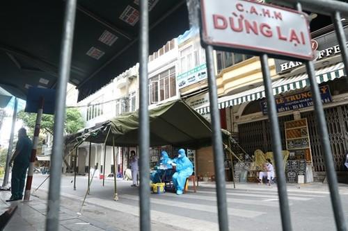 Hanói aplica medidas de distanciamiento social  - ảnh 1