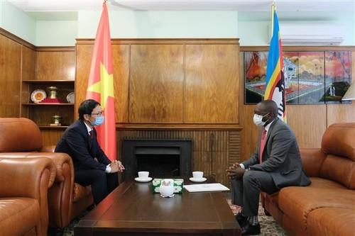 Embajada Vietnamita en Sudáfrica apoya la lucha contra el covid-19 - ảnh 1