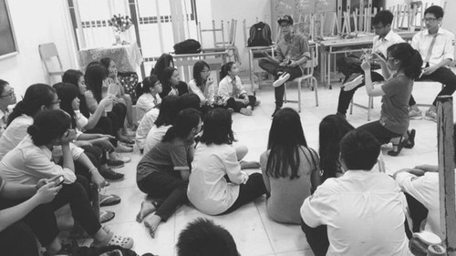 "Nguyên Anh Tuân et le projet ""Street arts for street kids"" - ảnh 2"