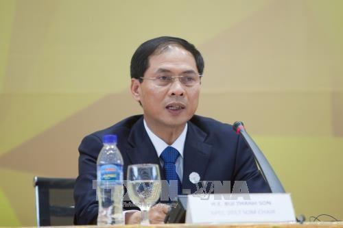 Bùi Thanh Son: Le Vietnam contribue au règlement des problématiques urgentes  - ảnh 1