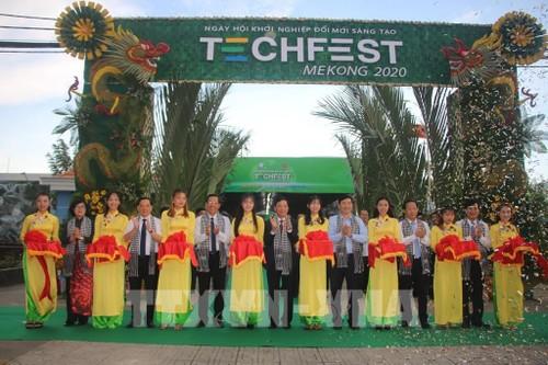 Techfest Mekong 2020 : lieu de rencontre de créateurs de startups - ảnh 1