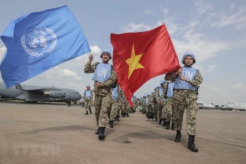 L'armée vietnamienne participe de façon responsable aux activités de maintien de la paix de l'ONU - ảnh 1