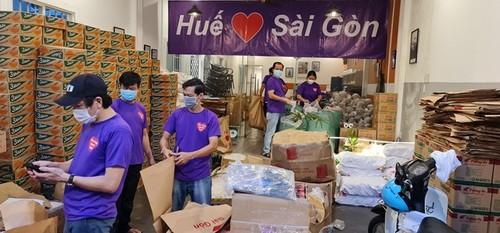Covid-19: les habitants du Centre solidaires des Saïgonnais - ảnh 1