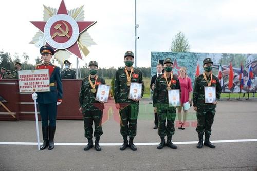 Jeux militaires internationaux 2021: le Vietnam obtient une médaille de bronze supplémentaire - ảnh 1