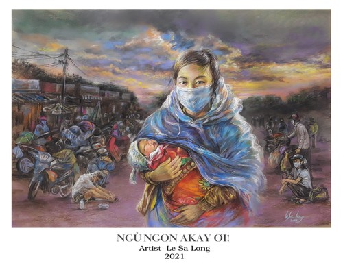 """""""Sai Gon thuong"""" by Kyo York spreads the message of love - ảnh 3"""