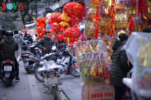 Hanoi à l'approche du Têt - ảnh 9