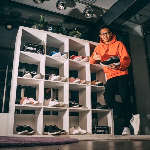 Deux jeunes vietnamiens qui fabriquent des sneakers à base de café honorés par Forbes Europe - ảnh 6