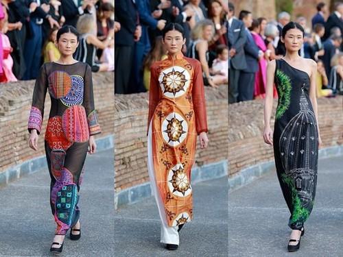Fashion Designer Diego Chula on Vietnam's traditional Ao Dai - ảnh 3