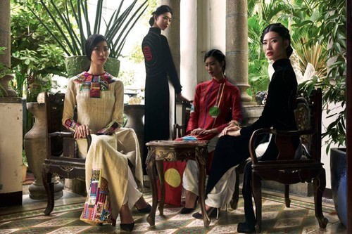 Fashion Designer Diego Chula on Vietnam's traditional Ao Dai - ảnh 2