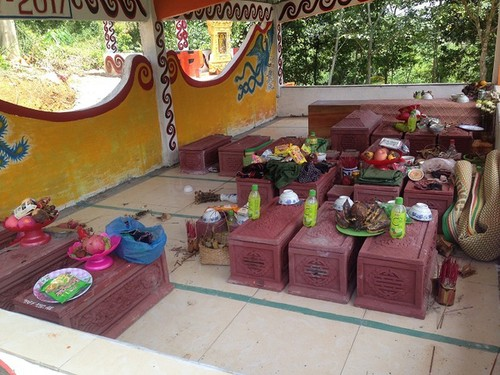 Arieu Ping, the reburial festival of the Pa Ko  - ảnh 2
