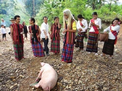 The Bru Van Kieu's rituals of worshipping the souls of the living - ảnh 2