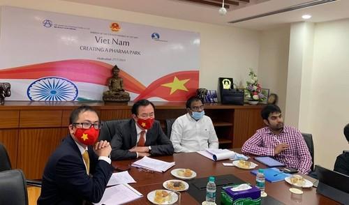 Indien will 500 Millionen US-Dollar in Bau des Pharma-Parks in Vietnam investieren - ảnh 1
