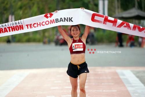 Plus de 13 mille personnes participent au marathon international de Hô Chi Minh-ville - ảnh 1