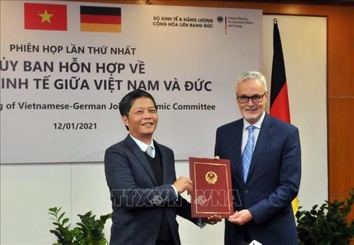 EVFTA – Tenaga Pendorong Penting dalam Memperhebat  Hubungan Perdagangan Jerman-Vietnam - ảnh 1