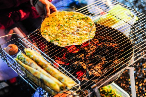 Grilled rice crackers - ảnh 2