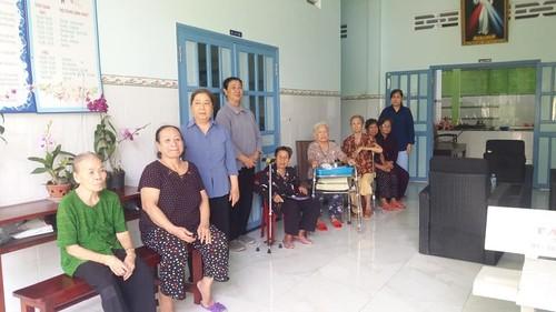 Nursing home for single elderly people - ảnh 2