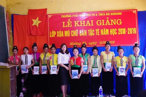 Anti-illiteracy campaign – Sowing hope for ethnic minority people - ảnh 3