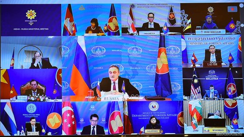ASEAN dan Rusia Prioritaskan Kerja Sama untuk Hadapi Pandemi dan Bantu Pemulihan yang Komprehensif - ảnh 1